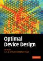 Optimal Device Design: Book by A. F. J. Levi , Stephan Haas