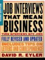 Job Interviews That Mean Business: Book by David R. Eyler