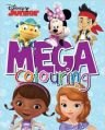 Disney Junior Mega Colouring: Book by Parragon
