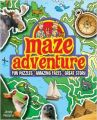 Maze Adventure: Fun Puzzles, Amazing Facts, Great Story: Book by Andy Peters