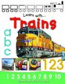 Learn with Trains: Book by Belinda Gallagher