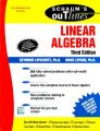 Linear Algebra (English) 3rd Edition (Paperback): Book by Seymour Lipschutz, Marc Lipson