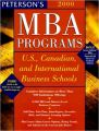 Peterson's MBA Programs, 2000: U.S., Canadian, and International Business Schools (Peterson's Guide to Mba Programs 2000) (English) Bk&Disk Edition (Paperback): Book by Peterson\'s Guides