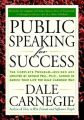 Public Speaking for Success: Book by Dale Carnegie