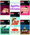 Set - 2 Collins Agatha Christie  (5 Books with 5 CD): Book by Agatha Christie
