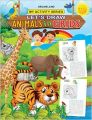 My Activity- Let's Draw Animals in Grids: Book by Dreamland Publications