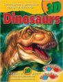 3D Books Dinosaurs: Book by John Starke