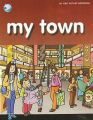 MY TOWN - PICTURE WORD BOOK (English) (Paperback): Book by Pegasus