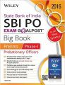 Wiley's State Bank of India Probationary Officer (SBI PO) Exam Goalpost Big Book  Prelims (Phase-I) (English) (Paperback  Dreamtech Press): Book by  DT Editorial Services is a team of experienced trainers and content developers, in their respective subjects, that have gone through the examination process themselves and have acquired proficiency and experience in their domains. The team believes in outcome that is research-oriented and field-test... View More DT Editorial Services is a team of experienced trainers and content developers, in their respective subjects, that have gone through the examination process themselves and have acquired proficiency and experience in their domains. The team believes in outcome that is research-oriented and field-tested, to help the examinees take the best course of preparation unparalleled to any other entrance exam based book.
