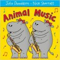 Animal Music (English) (Paperback): Book by  Nick Sharratt is the prize-winning illustrator of many books for children of all ages, most notably the stories of Jacqueline Wilson. His picture book collaborations with Julia Donaldson include CHOCOLATE MOUSSE FOR GREEDY GOOSE, HIPPO HAS A HAT, ONE MOLE DIGGING A HOLE, TODDLE WADDLE and GOAT ... View More Nick Sharratt is the prize-winning illustrator of many books for children of all ages, most notably the stories of Jacqueline Wilson. His picture book collaborations with Julia Donaldson include CHOCOLATE MOUSSE FOR GREEDY GOOSE, HIPPO HAS A HAT, ONE MOLE DIGGING A HOLE, TODDLE WADDLE and GOAT GOES TO PLAYGROUP. His many bestselling picture and novelty books also include the LIFT-THE-FLAP FAIRY TALES series for Macmillan. Julia Donaldson, the 2011-2013 Children's Laureate, is the outrageously talented, prize-winning author of the world's most-loved picture books including THE GRUFFALO and WHAT THE LADYBIRD HEARD. She also writes poems, plays, songs and fiction for older children and, together with her husband Malcolm, has performed her wonderful stage shows all over the world.