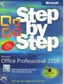 MS OFF. PROFESSIONAL 2010 STEP BY STEP (English) (Paperback): Book by Et Al. COX
