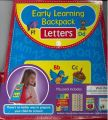 Early Learning Backpack - Letters: Book by Alicat