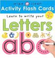 Wipe Clean Flash Cards ABC: Book by Roger Priddy