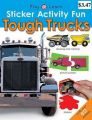 Sticker Activity Fun Tough Trucks: Book by Roger Priddy