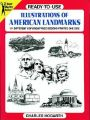 Ready-to-use Illustrations of American Landmarks: Book by Charles Hogarth