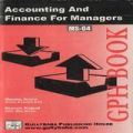 MS04 Accounting And Finance For Managers  (IGNOU Help book for MS-04 in English Medium): Book by Meenu Arora