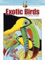 Creative Haven Exotic Birds Coloring Book: Book by Ruth Soffer