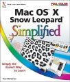 Mac OS X Snow Leopard Simplified: Book by Paul McFedries