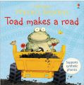 Usborne Phonics Readers: Toad Makes A Road: Book by Phil Roxbee Cox