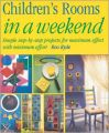 Children's Rooms in a Weekend: Book by Roo Ryde