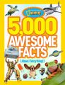 5,000 Awesome Facts (About Everything!) (English) (Hardcover): Book by National Geographic Kids