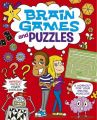 Brain Games and Puzzles: Book by Arcturus Publishing