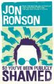 So You've Been Publicity Shamed: Book by Jon Ronson