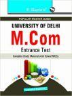 M.Com Entrance Test Guide: Book by Sima Kumari