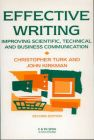 Effective Writing: Improving Scientific, Technical and Business Communication: Book by C. Turk , J. Kirkman