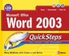 Microsoft Office Word 2003 QuickSteps: Book by Marty Matthews