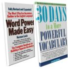 Word Power Made Easy and 30 Days to More Powerful Vocabulary (Set 2 Books): Book by NORMAN LEWIS