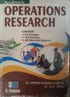 Operations Research: Book by PREM KUMAR GUPTA, D S HIRA