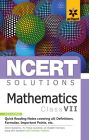 NCERT Solutions Mathematics for class 7th: Book by Arihant Experts
