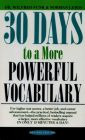 30 DAYS TO A MORE POWERFUL VOCABULARY (English) (Paperback): Book by FUNK WILFRED
