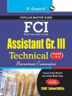 FCI Assistant Grade III (Technical) Recruitment Exam Guide: Book by RPH Editorial Board