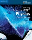 Cambridge IGCSE Physics Coursebook with CD-ROM: Book by David Sang