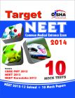 Target NEET 2014 (2012 & 13 NEET Solved Paper + 10 Mock Papers): Book by Disha Experts