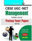 UGC-NET - Management Previous Papers Solved: Book by RPH Editorial Board
