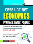 UGC-NET - Economics Previous Papers (Solved): Book by RPH Editorial Board