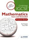 Cambridge IGCSE Mathematics Core and Extended Practice Book: Book by Ric Pimentel