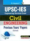 UPSC Engineering Services ExamCivil Engineering Previous Years Papers (Solved) (From 1998 to onwards) (English) 1st Edition (Paperback): Book by RPH Editorial Board