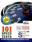 SSC Combined Graduate Level  (Tier I & Tier II) Exam 101 Speed Tests : Book by Disha Experts