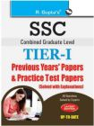 SSC Graduate Level Previous Years' Papers and Practice Test Papers (Solved): Book by RPH Editorial Board