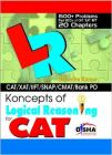 Koncepts of LR - Logical Reasoning for CAT, XAT, CMAT, Bank PO & other aptitude tests: Book by Gajendra Kumar