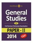 General Studies for Civil Services Preliminary Examination Paper - II 2014 : Book by M. H. E