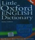 Little Oxford English Dictionary: Book by Oxford Dictionary