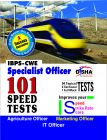 IBPS-CWE Specialist Officer 101 Speed Tests - Agriculture/ Marketing/ IT: Book by Disha Experts