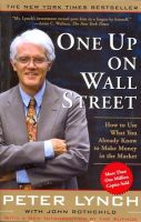 One Up On Wall Street:Book by Author-Peter Lynch