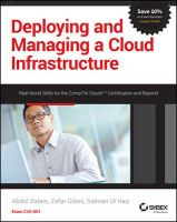 Deploying and Managing a Cloud Infrastructure: Real World Skills for the CompTIA Cloud+ Certification and Beyond: Exam CV0-001: Book by Abdul Salam