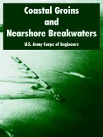 Coastal Groins and Nearshore Breakwaters: Book by U.S. Army Corps of Engineers